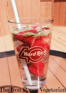 Strawberries, Mint, and Mineral Water